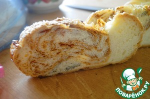 Рецепт Хлеб-плетенка к пасхальному столу