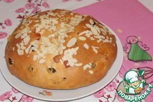 Рецепт Немецкий пасхальный хлеб