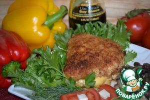 Рецепт Куриный конвертик с сыром