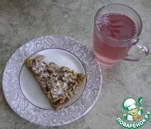Рецепт Пирог с тыквой и карамелизированными яблоками