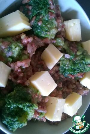 Рецепт Бурый рис с брокколи и сыром