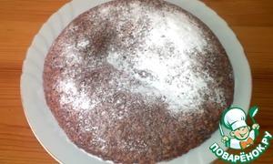 Рецепт Постный овсяной пирог с яблоками в мультиварке