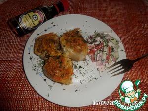 Рецепт Рулетики с мясом