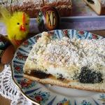 Мраморный дрожжевой пирог