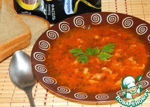 Рецепт Фасолево-томатный суп