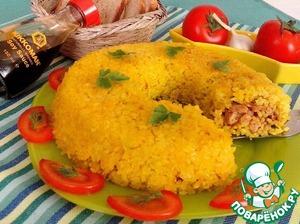 Рецепт Рисовый рулет с горбушей