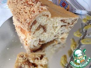 Рецепт Хлеб праздничный со штрейзелем