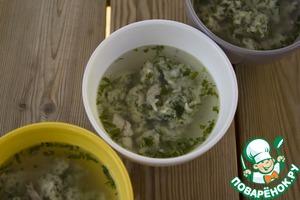 Рецепт Потрясающий суп с ароматными клецками