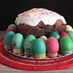 Пасхальный кулич (без яиц)