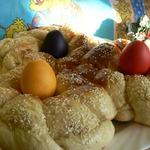 Пасхальный хлеб по-гречески