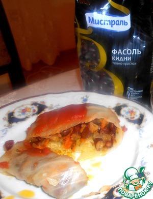 Рецепт Голубцы из фасоли
