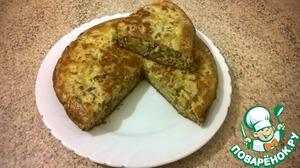 Рецепт Заливной пирог с мясом в мультиварке