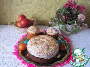 Рецепт Праздничные куличи