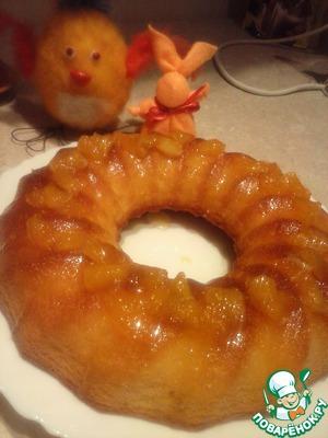 Рецепт Апельсиновый кекс с джемом