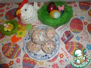 Рецепт Пасхальные куличики-малышки
