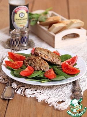 Рецепт Духовые котлеты из баранины с овощами