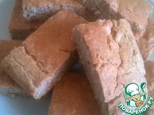 Рецепт Цельнозерновая хлебная лепешка без дрожжей
