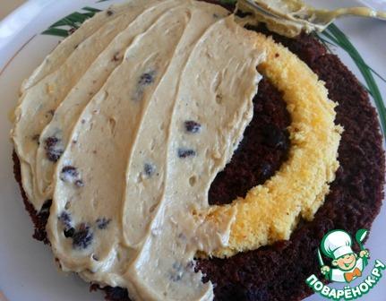"""Готовим Торт """"Славянский"""" с халвичным кремом вкусный пошаговый рецепт приготовления с фото #12"""