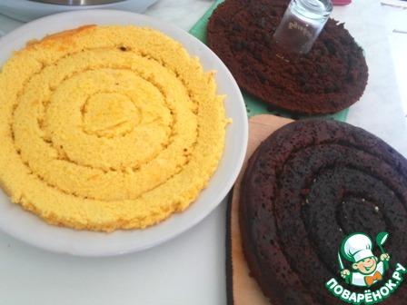 """Готовим Торт """"Славянский"""" с халвичным кремом вкусный пошаговый рецепт приготовления с фото #10"""
