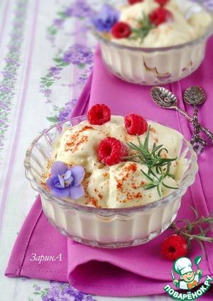 рецепты мороженого с фото совкусом лимона