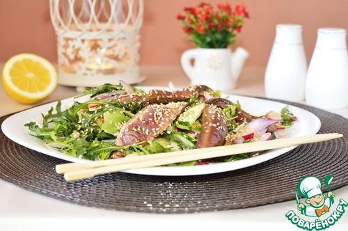 Салат с говядиной и соевым соусом рецепт с 36