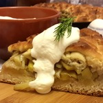 Бабушкин пирог с картошкой