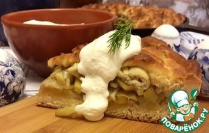 Рецепт Бабушкин пирог с картошкой