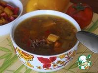 Суп с чечевицей и болгарским перцем ингредиенты