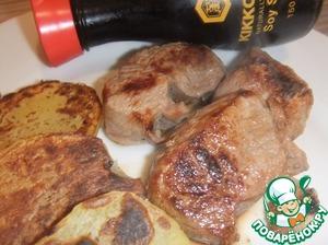 Рецепт Свинина в гранатовом соусе