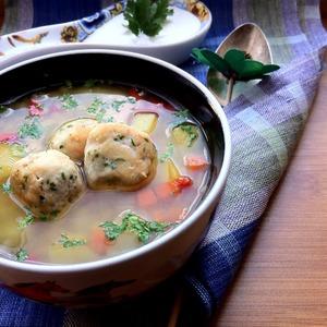Рецепт Чечевичный суп с фрикадельками