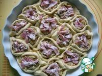Порционный пирог с капустой ингредиенты