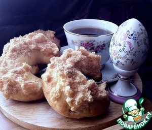 Сдобные рожки с вареньем домашний рецепт приготовления с фотографиями пошагово