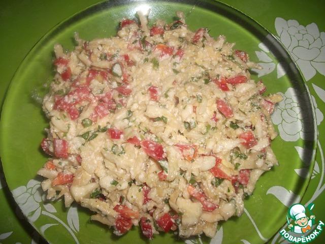 салат из капусты поваренок ру