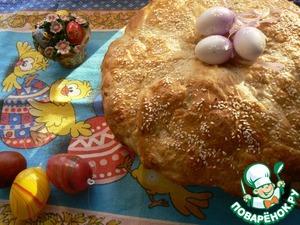 Рецепт Пасхальный хлеб по-итальянски