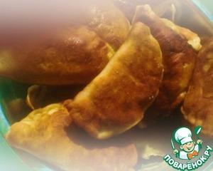 """Рецепт """"Здоровые"""" низкокаллорийные пирожки с курицей и капустой"""