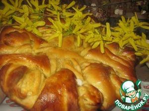Рецепт Пирог-цветок
