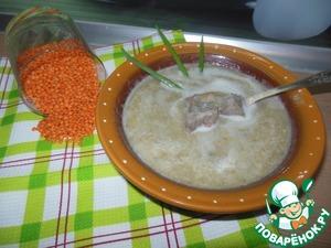 Рецепт Крем-суп из чечевицы
