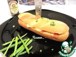Рецепт Сэндвич в итальянском стиле