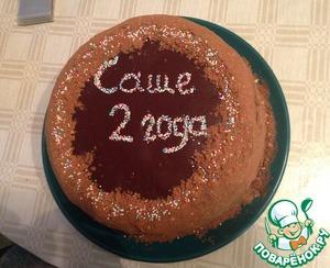 """Рецепт Рецепт домашнего торта безе с шоколадным кремом-""""Циелавиня"""""""