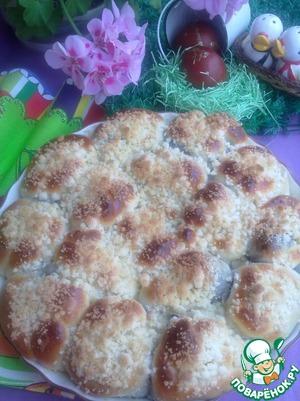 Рецепт Маковый пирог из булочек