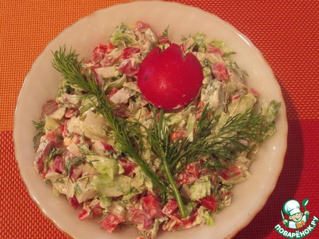 Поваренок рецепты с салаты закуски