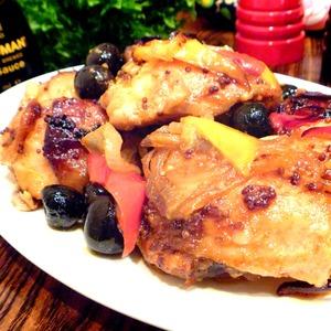 Рецепт Курица с овощами по-испански