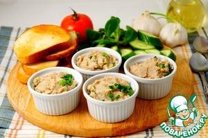 Рецепт Белый паштет с кешью и зеленью