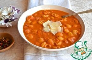 Рецепт Тосканский фасолевый суп с розмарином