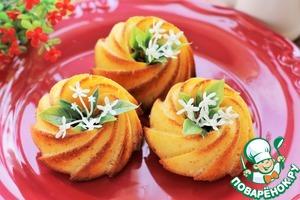 Рецепт Маффины с апельсином и белым шоколадом