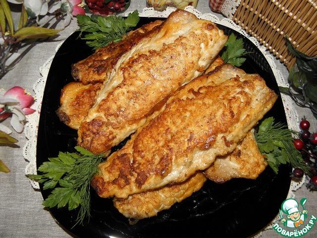 скумбрии золотая рыбка Рецепт