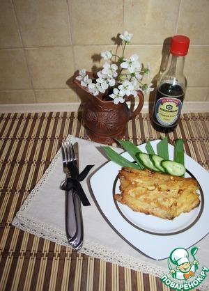 Рецепт Куриные отбивные в картофельной стружке