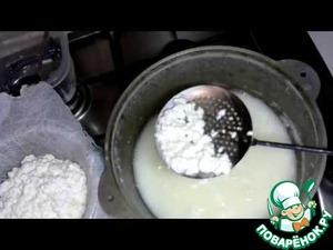 Готовим Адыгейский сыр домашний пошаговый рецепт с фото