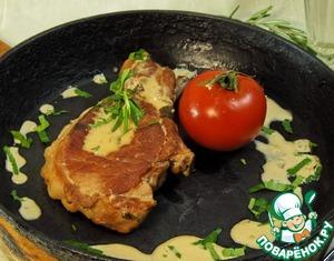 Рецепт Свинина в сливочном соусе