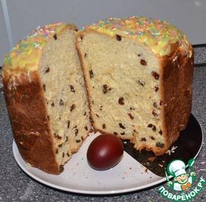 Рецепт Кекс-кулич в хлебопечке